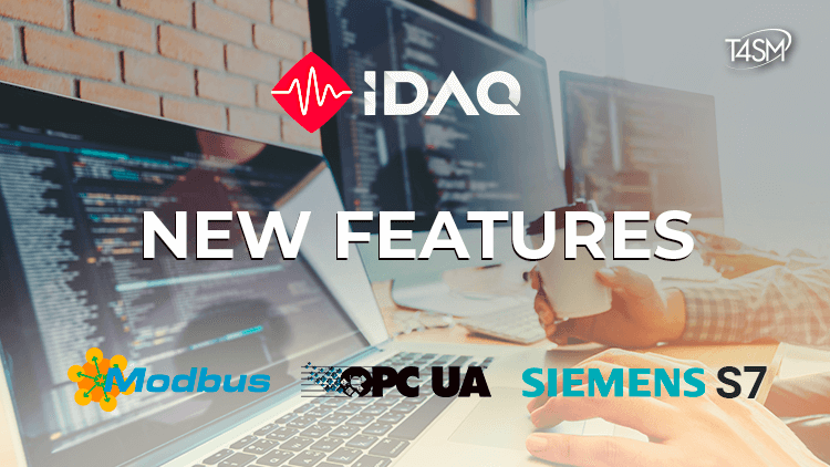 New features in ModBus, S7 and OPC-UA drivers for iDaq