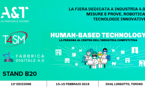 Fiera Automazione e Test | Saremo presenti all'A&T 2019