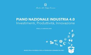 Industry 4.0 Italian National Plan was presented in Milan